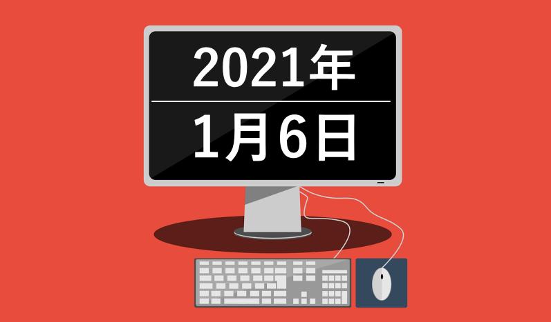 狙いに狙ってロングエントリー(2020年1月6日)